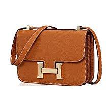 【FQ包包】側背包 空姐包 斜背包 真皮包包 媲美 Hermes constance ALY 2114