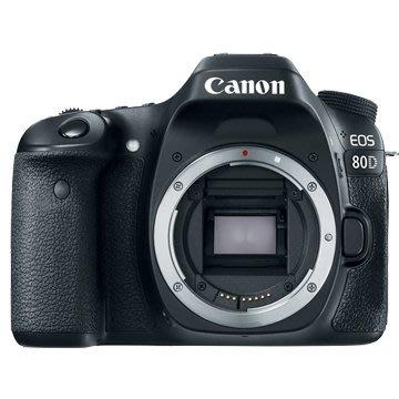 《晶準數位》Canon EOS 80D BODY (平輸貨)45個10字對焦.防水滴.防塵