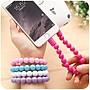 創意可愛 方便攜帶 佛珠充電線 珠珠 充電線  蘋果/安卓mircro usb/Type C 三款