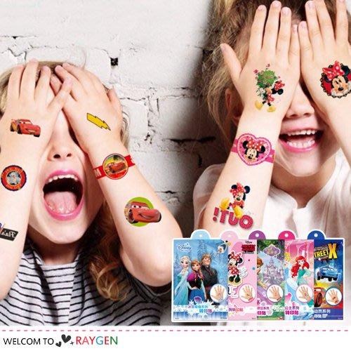 八號倉庫 迪士尼卡通系列轉印貼紙 兒童紋身貼紙 4張/組【1B012M899】