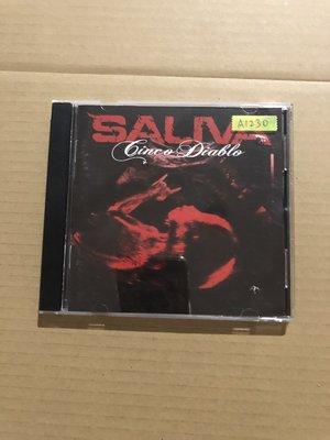 *還有唱片二館*SALIVA 二手 A1230 (封面底破.下標幫結)