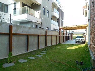 【園匠工坊】車庫 採光罩 南方松 木作工程 免費到府估價