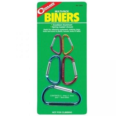 大營家購物網~Coghlans #0355 小鉤環組 Multi-Pack Biners