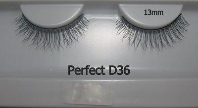 Perfect D36 / Perfect Eyelash睫毛部落手工編織假睫毛/電眼/Fake藝人美妝師最愛