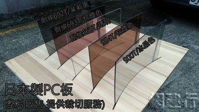 網建行 【 兩面耐候 PC實心平板】 2000*4000*5mm 每片38300元起 另有3mm可供選擇~新莊可自取