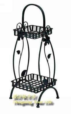 【設計私生活】鐵鍛造型花架 -古銅色(門市自取價)192