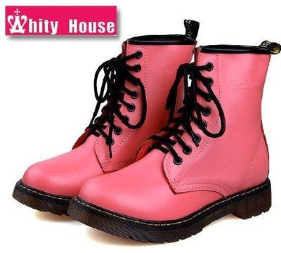 =WHITY=韓國GRAMMI品牌 韓國製 全真皮牛皮短靴高級防滑牛筋底 附增高鞋墊S3GC345