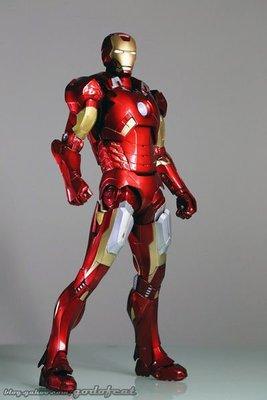 NECA 復仇者聯盟 鋼鐵人 Iron Man 馬克7 MARK7 1/ 4 LED發光 46CM  全球限定7500隻 桃園市