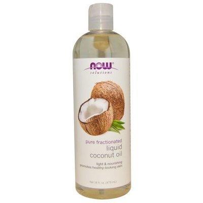 【個人賣場】Now Foods  Liquid Coconut Oil 椰子油 按摩油 護膚護髮 473ml美國進口