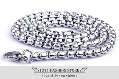 鈦鋼 / 不鏽鋼 加厚 環扣 不鏽鋼鍊 項鍊 鈦鋼項鍊 / 配鍊 全長 約 55cm 不退色 BH042901