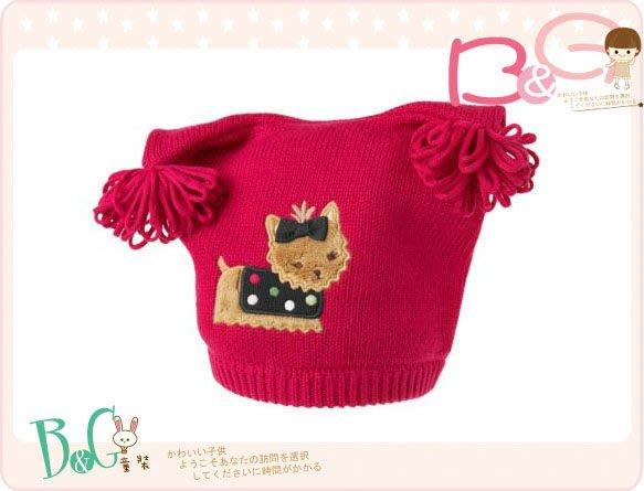 【B& G童裝】正品美國進口GYMBOREE Yorkie Sweater Hat紅色毛線帽0-12,12-24mos
