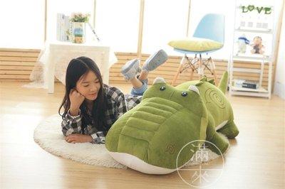 120CM 鱷魚公仔 鱷魚造型 抱枕【奇滿來】可愛 女生抱枕 絨毛玩具 娃娃 禮物 超柔軟 鱷魚娃娃 睡覺靠枕 ABXI