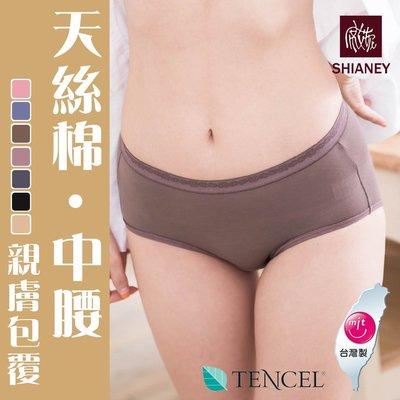 女性中腰褲 TENCEL纖維 天絲棉 微笑MIT台灣製 No.8856-席艾妮SHIANEY
