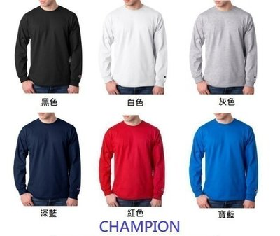【HOMIEZ】CHAMPION【CC8C】素TEE 長TEE 6色 S-2XL