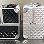 【箱工廠】光芒系列 手提鋁合金化妝箱 化粧箱 美甲箱 美睫箱 可放光療機 收納包 繡眉紋眉 行動美容 收納箱