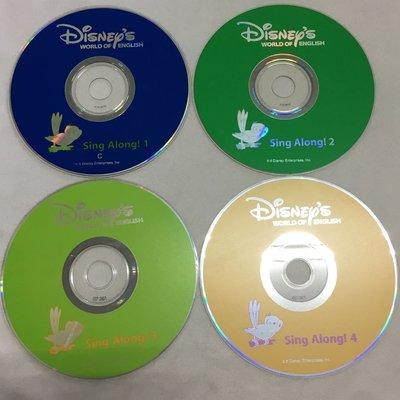 【彩虹小館3】CD8片~SING ALONG(1~4含spoken version共8片) 寰宇迪士尼美語DISNEYS