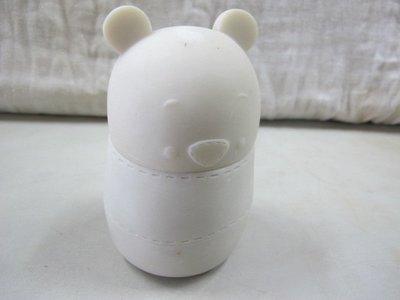二手舖 NO.1653 維尼置物罐 白胚 DIY彩繪 POLY樹脂