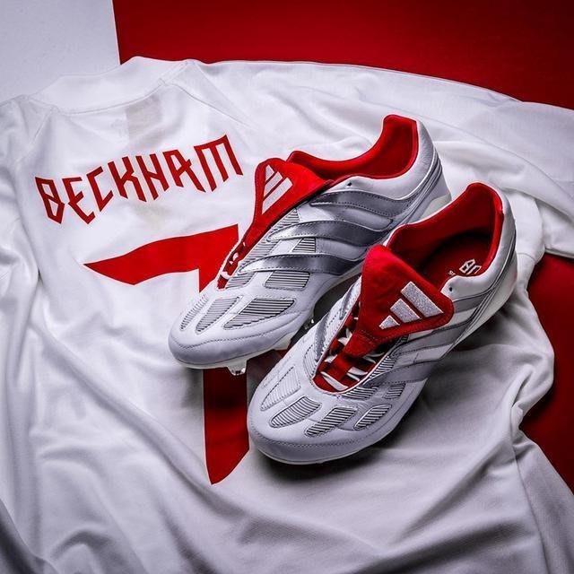 南◇2020 8月 ADIDAS Predator Beckham 貝克漢 球衣 白色 愛迪達 足球衣 DZ7313