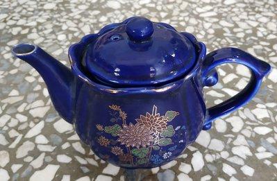 早期  老磁器 1茶壺+5茶杯。。大同可參考。。民國72年製造