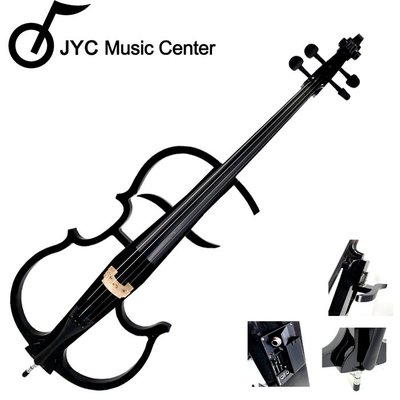 JYC Music  CV-130s靜音大提琴(黑色)高階韓國廠拾音器~附贈八大好禮
