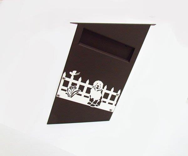 「詼諧風格」設計款不鏽鋼歪斜上拉式信箱,別出心裁,提供不同的生活選項,讓世界多一點幽默