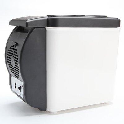 6升汽車載冰箱 便攜式車用小冰箱 冷暖冰箱 汽車小冰箱