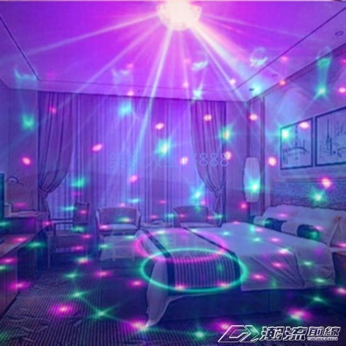 創意迷你插電七彩小夜燈變色臺燈臥室床頭夢幻情趣燈浪漫氛圍燈具