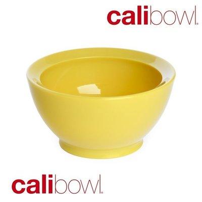 【波波的家】美國 Calibowl 專利防漏幼兒學習碗 8oz (無蓋單入) 黃色