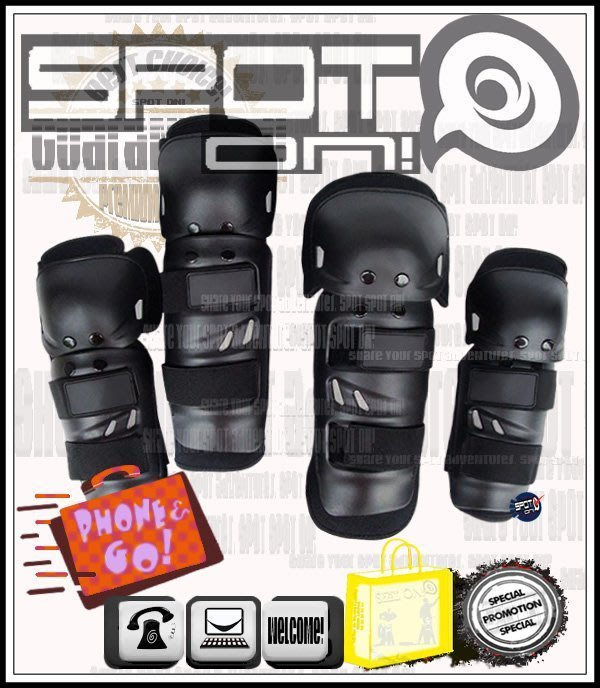 Spot ON - SZ07 四件式護具組-護膝/護肘組! GR 獵豹 GT FIGHTER VJR MANY G6