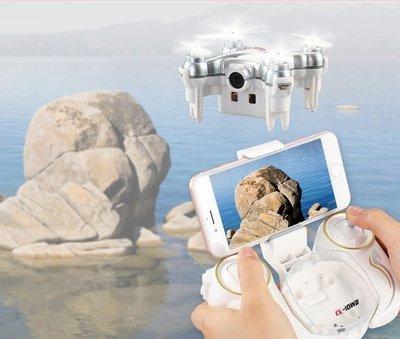 小型 CX-10WD 迷你 四軸 遙控 飛機 飛行器 空拍機 口袋 微型 無人機 FPV 定高 雙控 可以翻滾(免運)