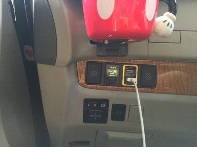 (柚子車舖) LEXUS CT200h 正廠車美仕套件 2.1A 雙孔 USB 充電座 可到府安裝 b