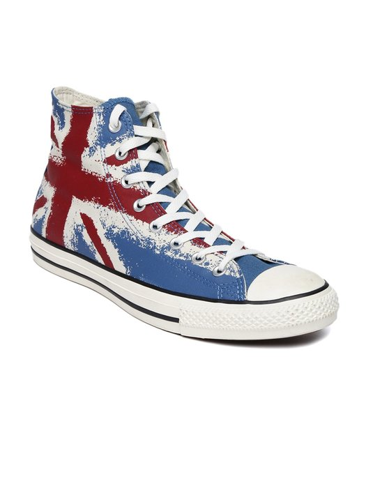 converse All star 英國國旗 British  仿舊 帆布鞋