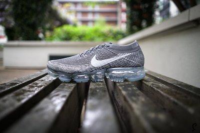 Nike Air Vapor-max flyknit Asphalt 849558-002深灰銀灰白編織全氣墊慢跑鞋GD