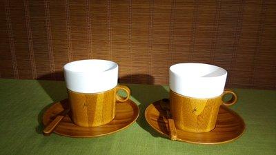 (店舖不續租清倉大拍賣)大禾---咖啡杯組,原價3200元賠本價1800元