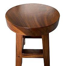 宏品二手家具館 全新中古傢俱家電HM226AB*全新厚板雨豆木圓凳*原木家具 中古傢俱 仿古家具 藝品 辦公電腦桌椅