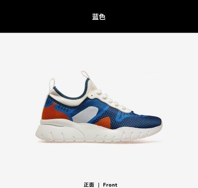 【全新正貨私家珍藏】Bally 2020新款BRANDOS-T男士藍色休閒運動潮鞋厚底鞋
