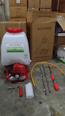 全新  背負式引擎噴霧機  26cc 二行程 25L 另售割草機 空壓機 鏈鋸 抽水機 施肥機