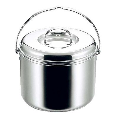 【大山野營】Captain Stag 鹿牌 M-8605 3層鋼鍋具20CM 煮米鍋 煮飯鍋 湯鍋 麵鍋