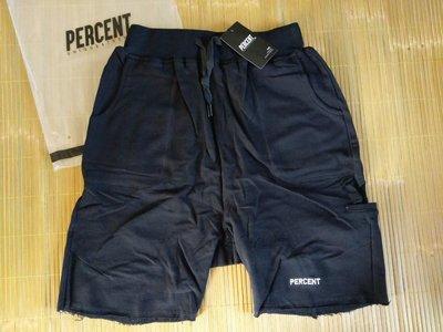 【T121】PERCENT% 剪裁不收邊棉短褲 %CS6001-S