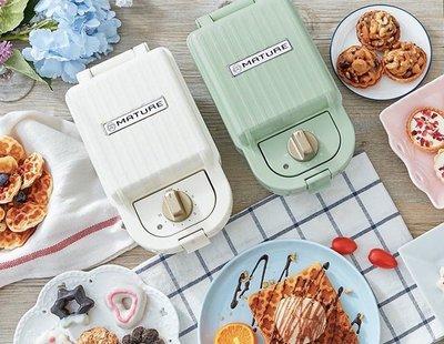 三明治烤盤+甜甜圈烤盤(送實用手套*1) 內附食譜 公司貨 定時 日系bruno同款 熱壓三明治機 點心機 三明治機