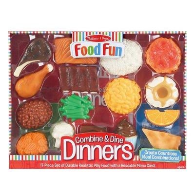 【晴晴百寶盒】美國進口麥香食物組 Melissa&Doug扮演角系列手眼協調 生日禮物兒童家家酒 益智遊戲玩具W616