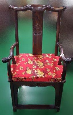 宏品二手家具館 中古傢俱賣場 RW22415黑檀木單人椅*電話架 展示架 藝品架 高低櫃 收納櫃 置物櫃 電器架