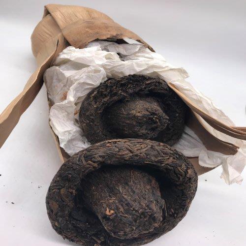 2003香菇頭老普洱茶7科一袋1科250克(生茶)