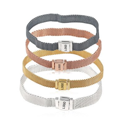 凱莉代購 Pandora 潘朵拉 S925純銀 LOGO字母扣頭錶鍊 附提袋 包裝盒 原單商品 預購