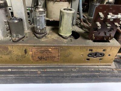 GRUNDIG 5050 W/3D 古董 真空管 收音機
