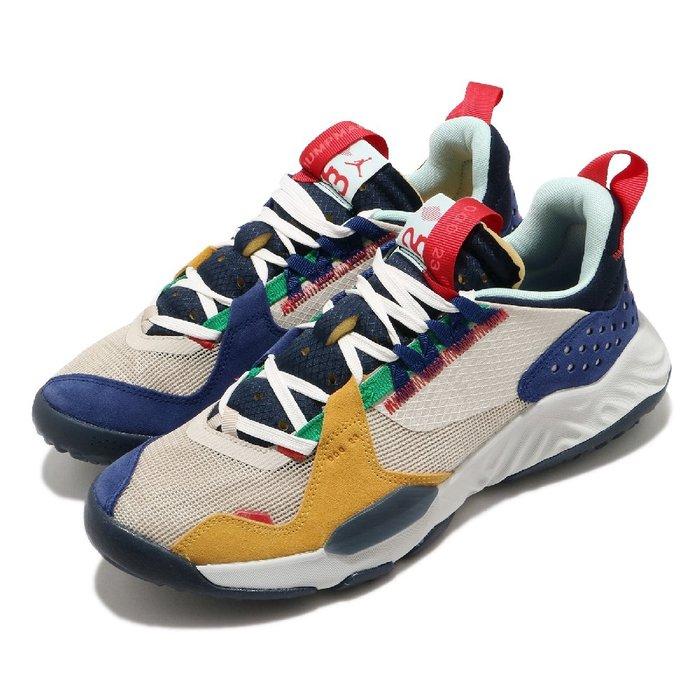 =CodE= NIKE AIR JORDAN DELTA 透氣網布籃球鞋(卡其黃藍)DB5923-161 REACT 男