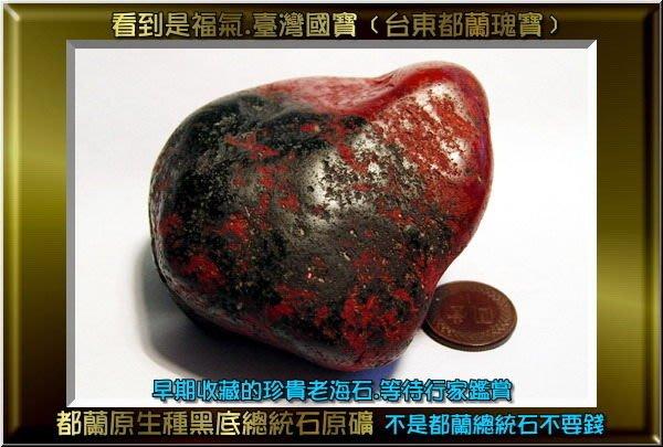 卍【陳媽媽珠料庫】卍《看到是福氣的幸福原礦》─【都蘭原生種總統石原礦】