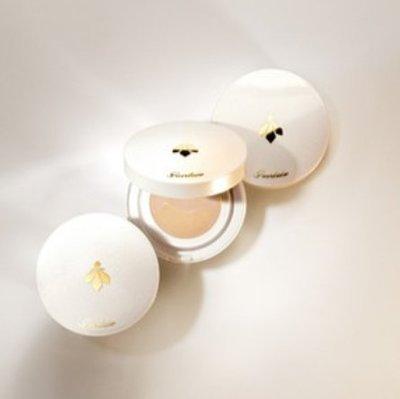 只有懶人沒有醜人- GUERLAIN 嬌蘭-皇家蜂王乳素顏氣墊水粉餅素顏氣墊 12ml-台灣專櫃貨B268