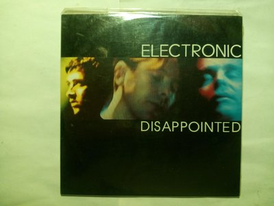 天團Electronic New Order+Smiths+Pet Shop Boys Disappointed單曲CD