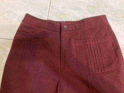 底2~出清~咖啡色長褲 長褲 彈性長褲 定價1980